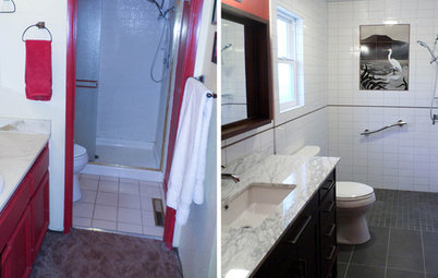 Reader Bathroom: $22,000 Remodel for Aging in Place in California