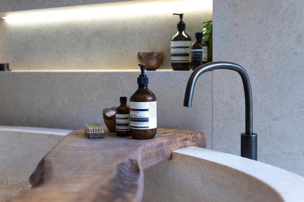 Contemporary Bathroom by Llama Group