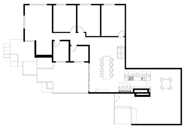 Floor Plan by Antje Bulthaup Architektin
