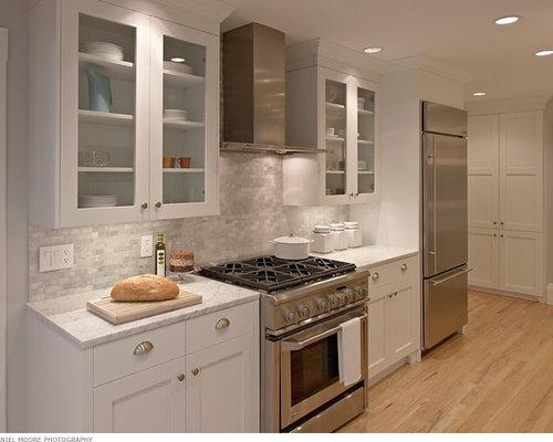 Carrera Marble Backsplash Home Design Ideas Pictures