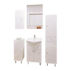 Kacper Bathroom Vanity set with ceramic sink