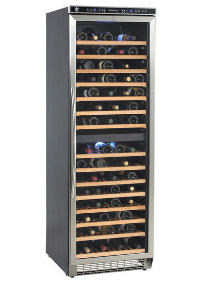 Traditional Beer And Wine Refrigerators 149-Bottle Dual Zone Wine Cooler