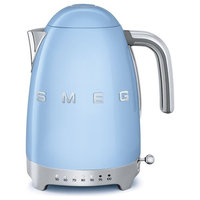 Smeg 50's Retro Style Adjustable Temperature Tea Kettle With Embossed Logo, Past