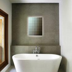 - Glass House AU - Bathroom Mirrors