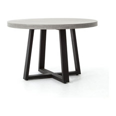 four hands four hands constantine cyrus round dining table quot dining tables: 40 inch round pedestal dining table
