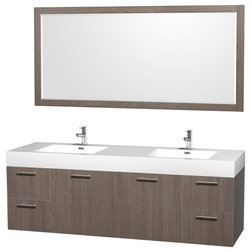 Cute Modern Bathroom Vanities And Sink Consoles by Luxvanity