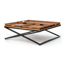 Four Hands Furniture - Irondale Jax Coffee Table, Large - Coffee Tables