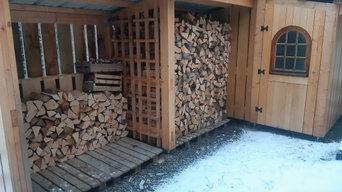 Abri bois et cabanon de jardin