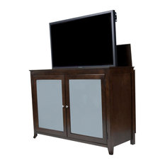 Touchstone Tuscany Espresso TV Lift Cabinet For 60-inch Flat Screens