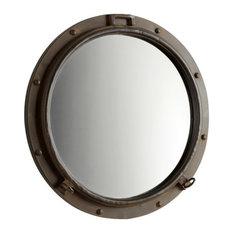 Industrial Wall Mirror industrial wall mirrors   houzz
