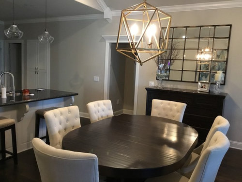 Buffet And Dining Table Decor Help
