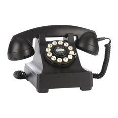 Wild and Wolf 302 Desk Phone, Black
