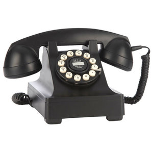 Wild and Wolf 302 Desk Phone, Black