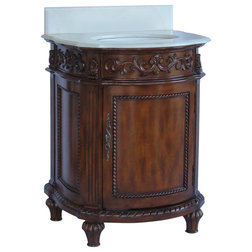 Fresh Traditional Bathroom Vanities And Sink Consoles by Chans Furniture
