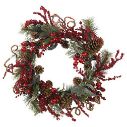 Traditional Wreaths And Garlands by Bathroom Marketplace