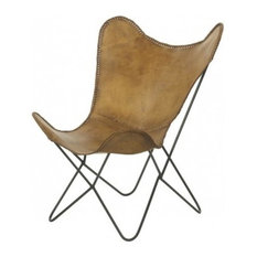 Leather Butterfuly Chair