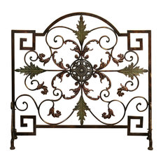 Tuscan Fireplace Screen | Houzz