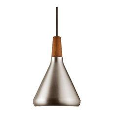 Nordlux - Float Small Pendant Light, Brushed Steel - Pendant Lighting