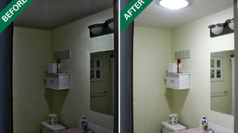Solar Tubes Before & After