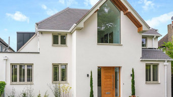 White and Modern Full Exterior and Interior Renovation