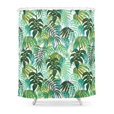 Lost, in the Jungle Shower Curtain