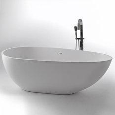 - Freistehende Badewanne Bassin - Badewanne
