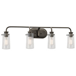 Lovely Industrial Bathroom Vanity Lighting by ShopFreely