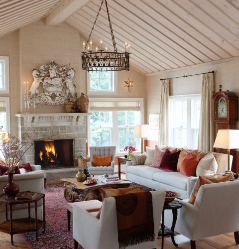 Farmhouse Great Room Houzz