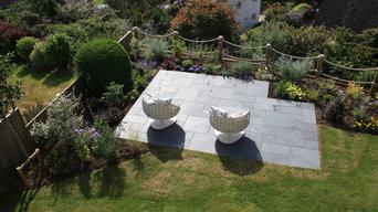 Coastal garden in Dorset