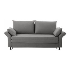 Exeter Upholstered Sofa Bed, Grey
