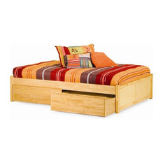 the atlantic furniture atlantic furniture concord flat panel daybed in natural maple daybeds