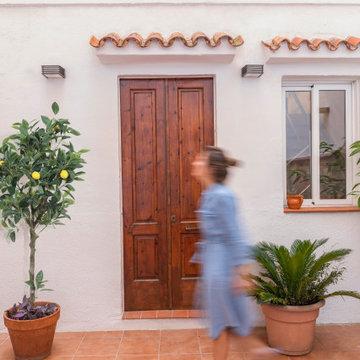 Casa en Santa Coloma. Patio