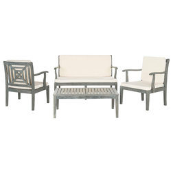 Vintage Transitional Outdoor Lounge Sets by Safavieh