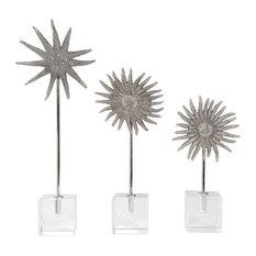 Uttermost Sunflower Starfish Sculptures Set of 3