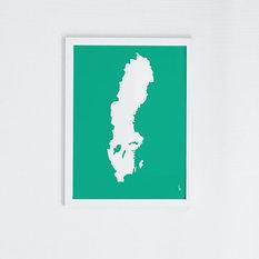 - Sverige celeste - Konstprints