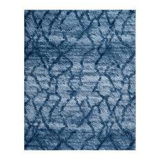 Safavieh Retro Woven Rug, Blue/Dark Blue, 8'x10'