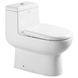 Contemporary Toilets by Bathroom Bazzar