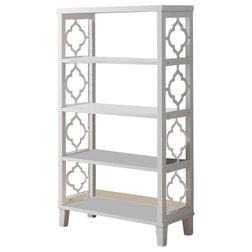 Mediterranean Bookcases by Pilaster Designs