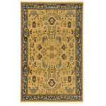 Unique Loom - Unique Loom Edinburgh Hyacinth Area Rug, Tan, 5'x8' - The classic look of the Edinburgh Collection is sure to lend a dignified atmosphere to your home. With an array of colors and patterns to choose from, there�s a rug to suit almost any taste in this collection. This Edinburgh rug will tie your home�s decor together with class and amazing style.