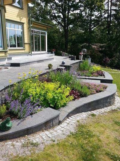 Modern  by Rödhakens Trädgård