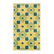 Loloi Isabelle His02 Green, Multi Area Rug, 3'x3'