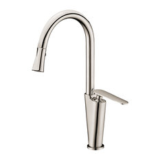DAWN - Dawn Single-Lever Kitchen Faucet, Brushed Nickel - Kitchen Faucets