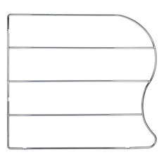 Hardware Resources TD18-PC 18 Inch Tall Wire Bakeware Divider - Chrome