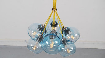 Lisbon - Sapphire & Saffron - Modern Chandelier Lighting