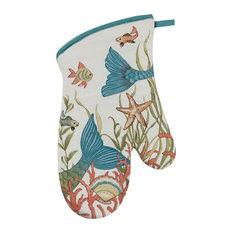 Mermaid Tails Seas the Day Kitchen Oven Mitt