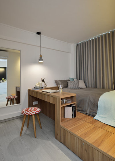 3 Room Hdb Interior Design Ideas: 5 3-room HDB Flats With Space-Maximising Designs