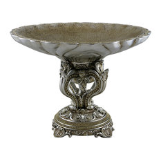 Silver Serving Plate Centarpiece Stand