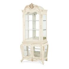 Michael Amini   AICO Lavelle Blanc Curio   China Cabinets And Hutches