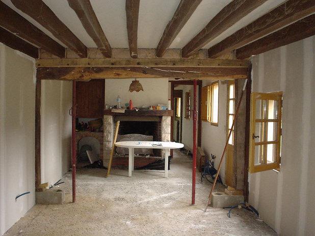 Visite priv e une long re normande enti rement r nov e for Decoration maison normande