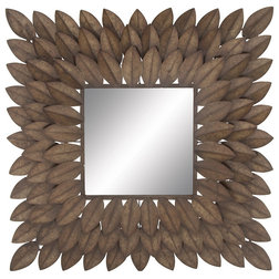 Transitional Wall Mirrors by GwG Outlet